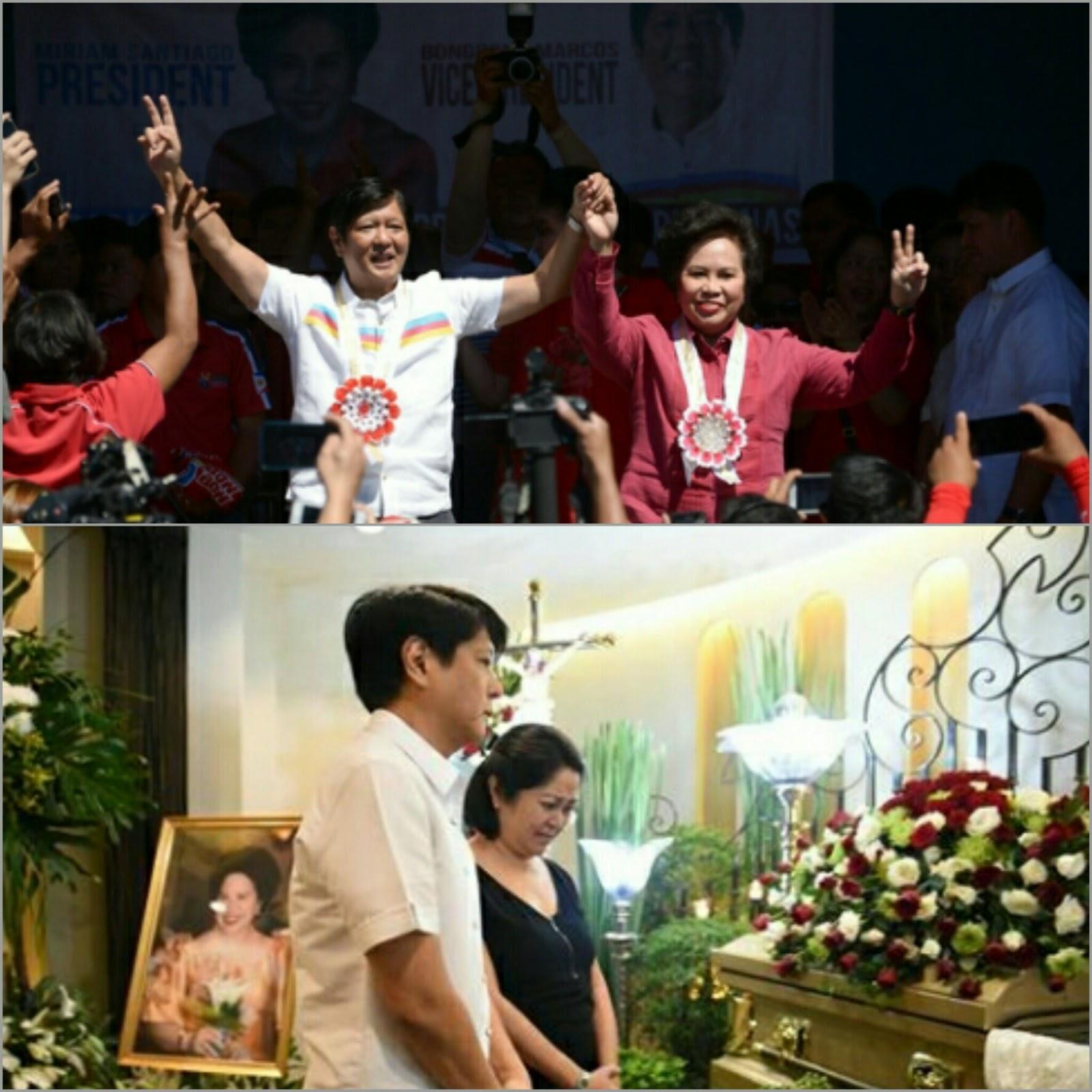 Former Senator Marcos recalls the last advice of late Senator Miriam ...
