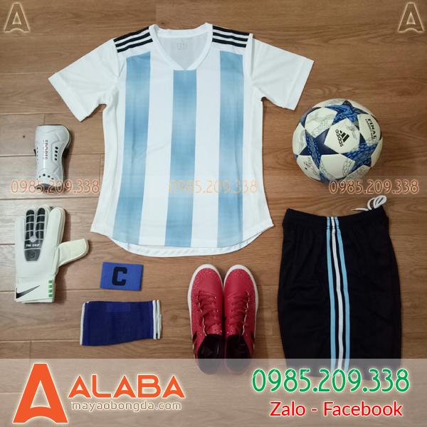Áo Argentina sân nhà không logo 2019