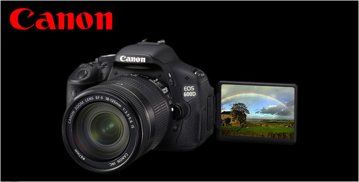 CANON EOS 600D KIT 18-135MM IS ~ Rumah kamera dslr