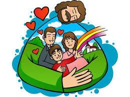 Dibujo : amor de familia