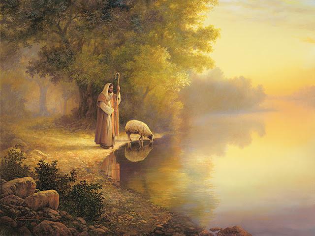 Jesus é o bom pastor