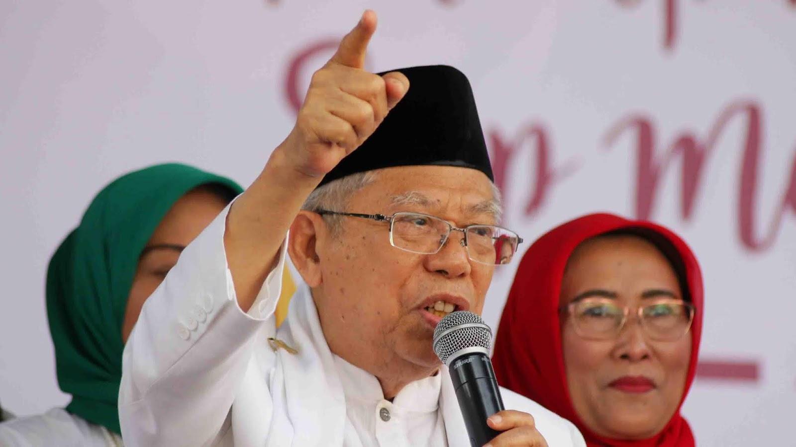Mengejutkan, Ini Bantahan Ma'ruf Amin Soal Jokowi Kader PKI