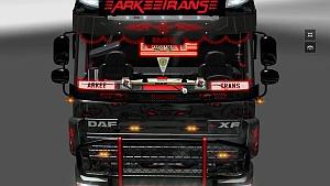 DAF XF 105/510 + Interior ARKEETRANS v2.0