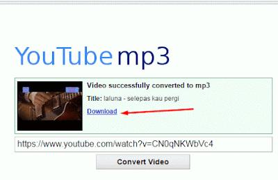 Cara Merubah Video Menjadi MP3