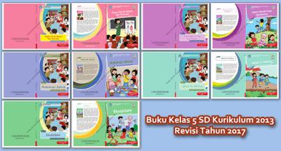 Buku K13 Kelas 5 Tema Udara Bersih Bagi Kesehatan Revisi 2017