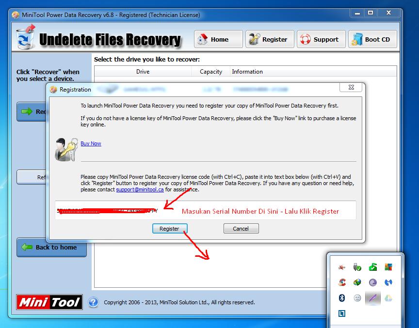 mini tool power data recovery 7.5 key