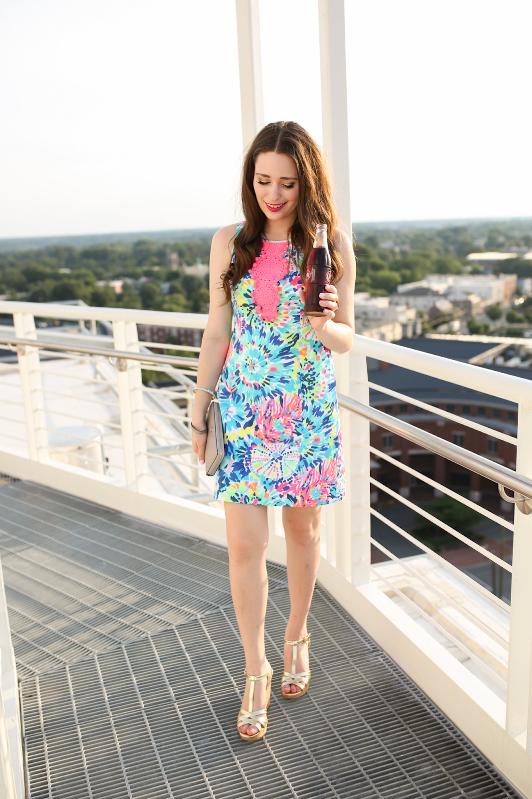 National Wear Your Lilly Day - Lilly Shift Dress
