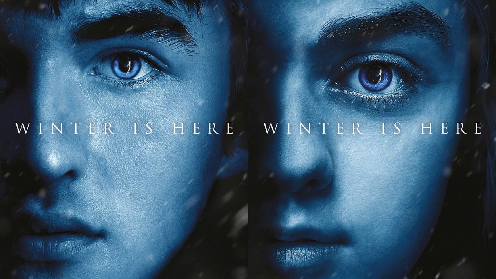 Character Posters for Arya and Bran Stark for Game of Thrones Season 7