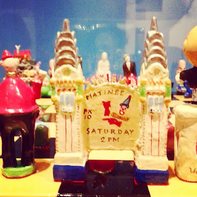 Chess set made up of pieces representing parts of Luna Park in Sydney,