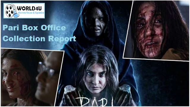 Pari 2018 box office two days collection of the film now stands at Rs 9.60 cr  Anushka Sharma's Film Picks Up Business