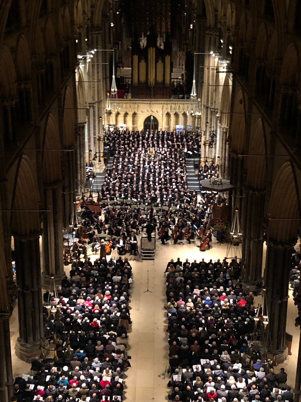 Britten: War Requiem - Lincoln Cathedral (Photo Phil Crow)