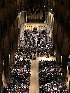 Britten: War Requiem - Lincoln Cathedral (Photo Phil Crow)