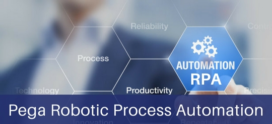 Robotic process automation in Pega