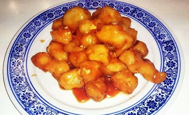 Kurczak słodko-kwaśny w stylu Hong Kong Rico's kitchen Made in china