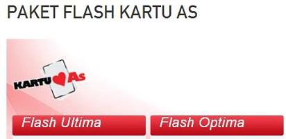 Ini Dia Daftar Telkomsel Flash Unlimited Kartu As Mudah, Murah Meriah