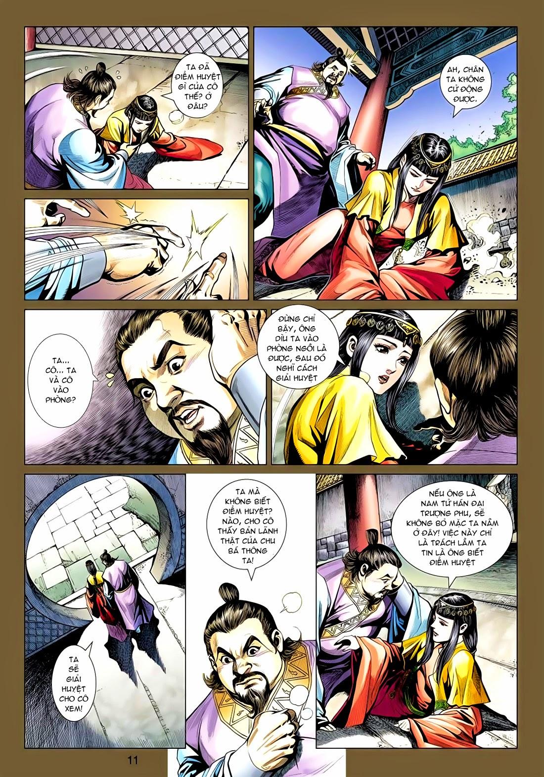 Anh Hùng Xạ Điêu anh hùng xạ đêu chap 77: thế thượng tối cường võ công trang 11