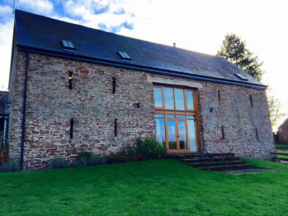 barn conversion in monmouth wales