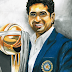 Sachin Tendulkar with ICC World Cup Trophy 2011