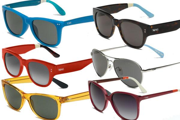Tα τρία εμβληματικά σχέδια γυαλιών ηλίου της TOMS κατασκευάζονται στην  Ιταλία. Κάθε σχέδιο έχει μια εικονική σχεδίαση με έμφαση στη λεπτομέρεια. 5eb05fa0ab3