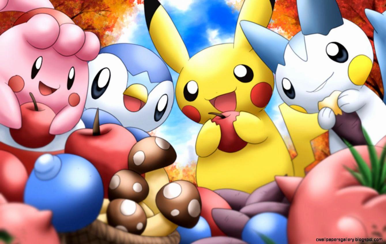 Cute Pokemon Wallpaper Wallpapers Gallery