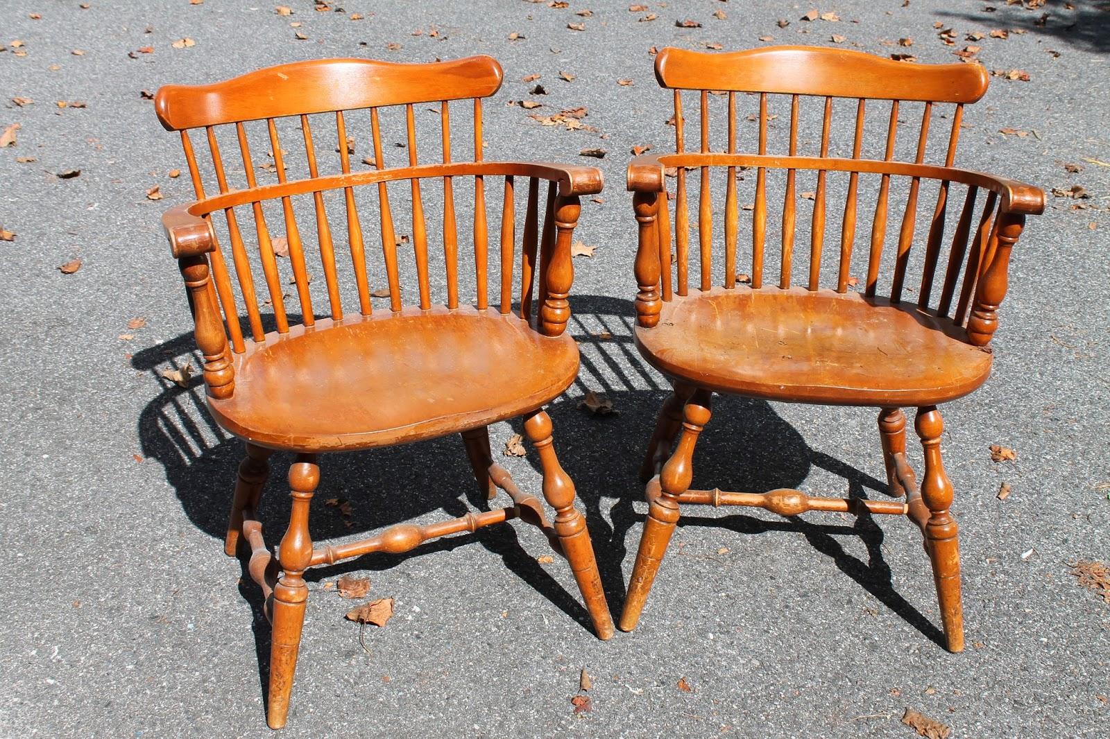 Elizabeth  Co Classic Black Windsor Chairs