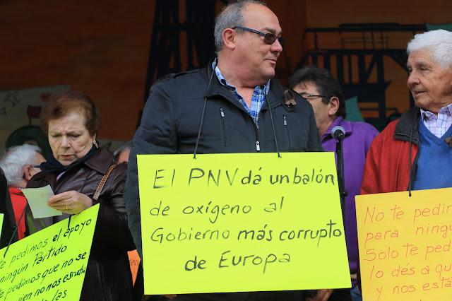 protesta jubilados y pensionistas