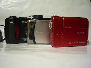 ニコン・COOLPIX950(E950)、COOLPIX S4、ソニー・DSC-F77A