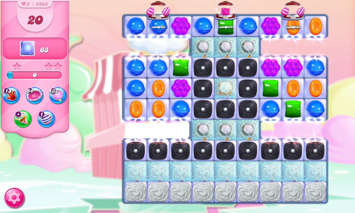 Candy Crush Saga level 5335