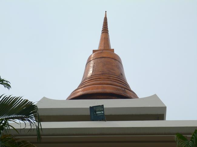 La estupa del templo