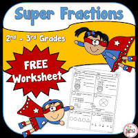 FREE Fraction Worksheet