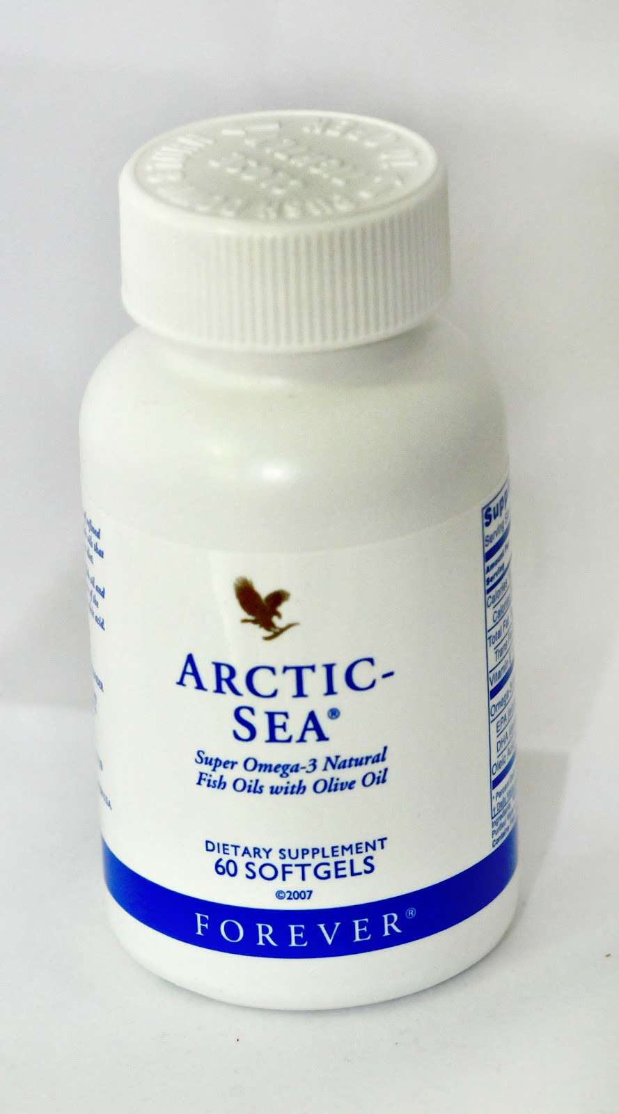 FOREVER LIVING PRODUCTS 3 ARCTIC SEA SUPER OMEGA 3