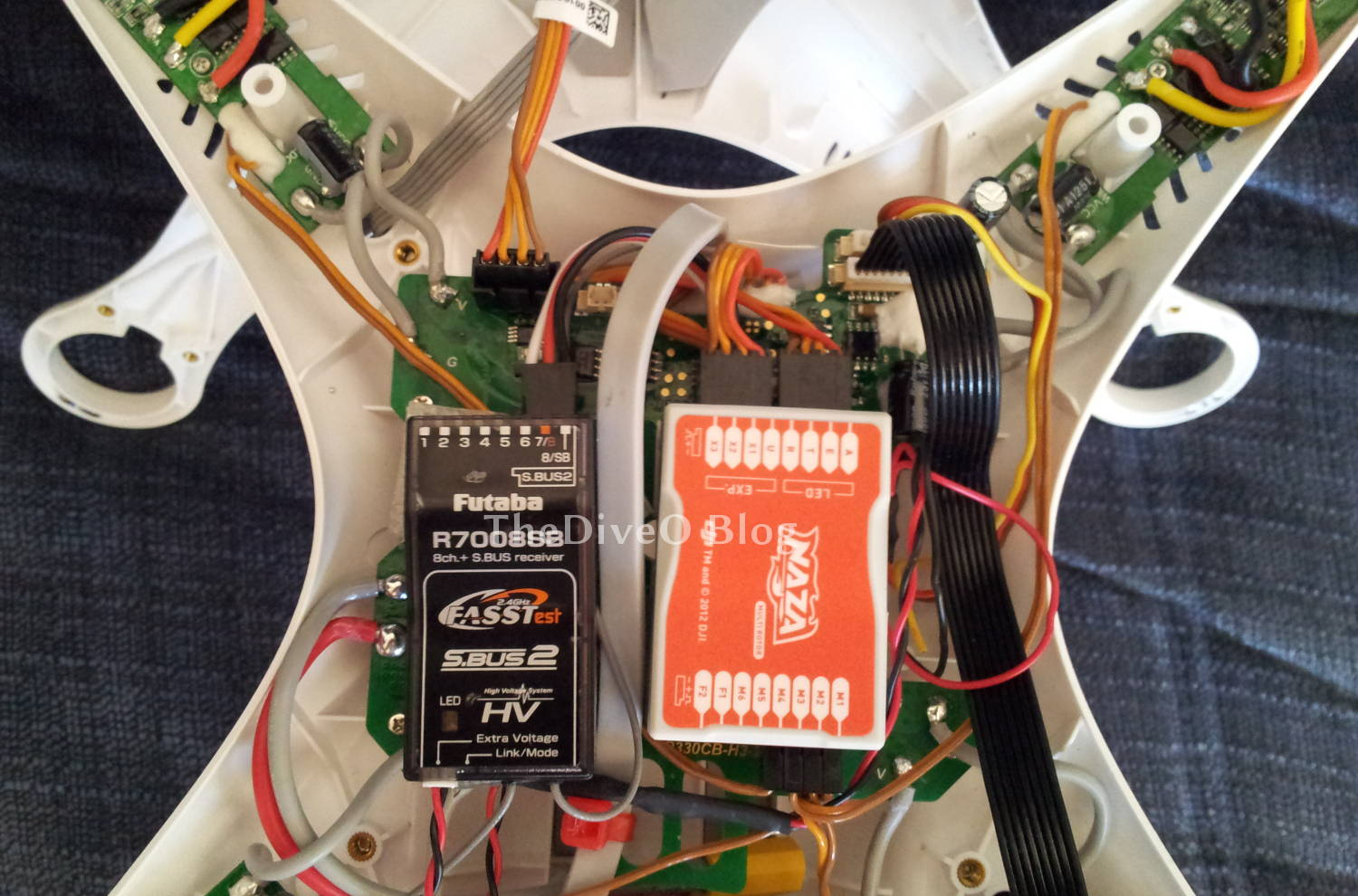hight resolution of left placement of r7008sb with the integrated phantom connection kit main board