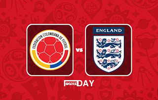 Colombia vs England – Highlights & All Goals