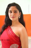 Actress Zahida Sam Latest Stills in Red Long Dress at Badragiri Movie Opening .COM 0188.JPG