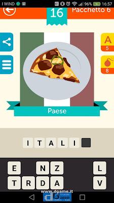 Iconica Italia Pop Logo Quiz soluzione pacchetto 6 livelli 16-100