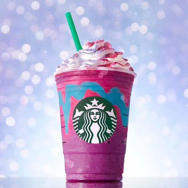 Starbuck Unicorn Frappuchino
