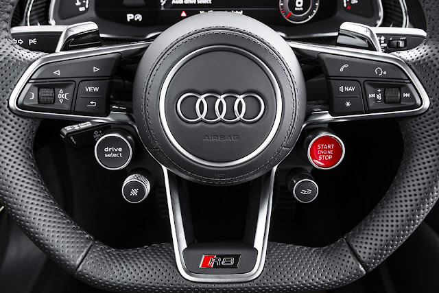 Audi R8 V10 Plus 2018 - Brasil - interior