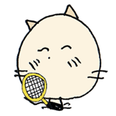 Nyankichi play tennis2