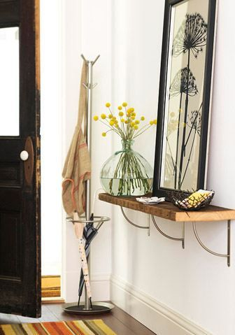 Ideas para decorar recibidores pequeños-16