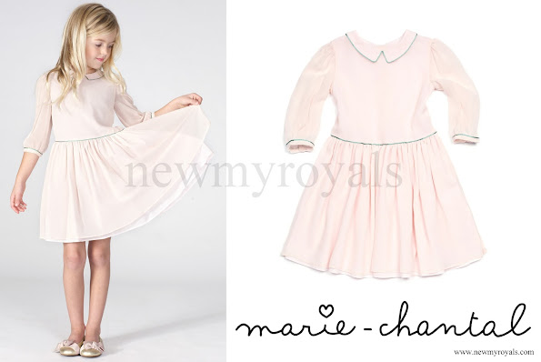Princess Estelle wore the dress she borrowed from her aunt