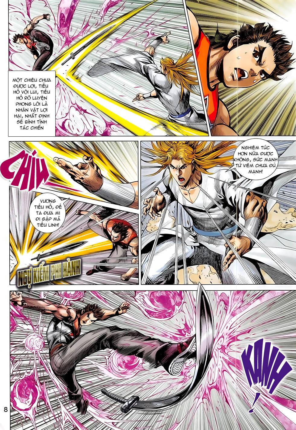 Đông Phương Chân Long chap 64 - Trang 8