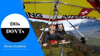 Hang Gliding DOs and DONTs
