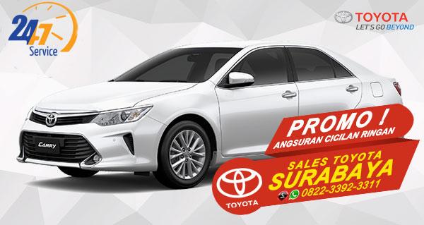Promo Angsuran Cicilan Ringan Toyota Camry Surabaya
