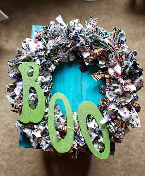 Lynsey Crafts Diy Halloween Fabric Wreath