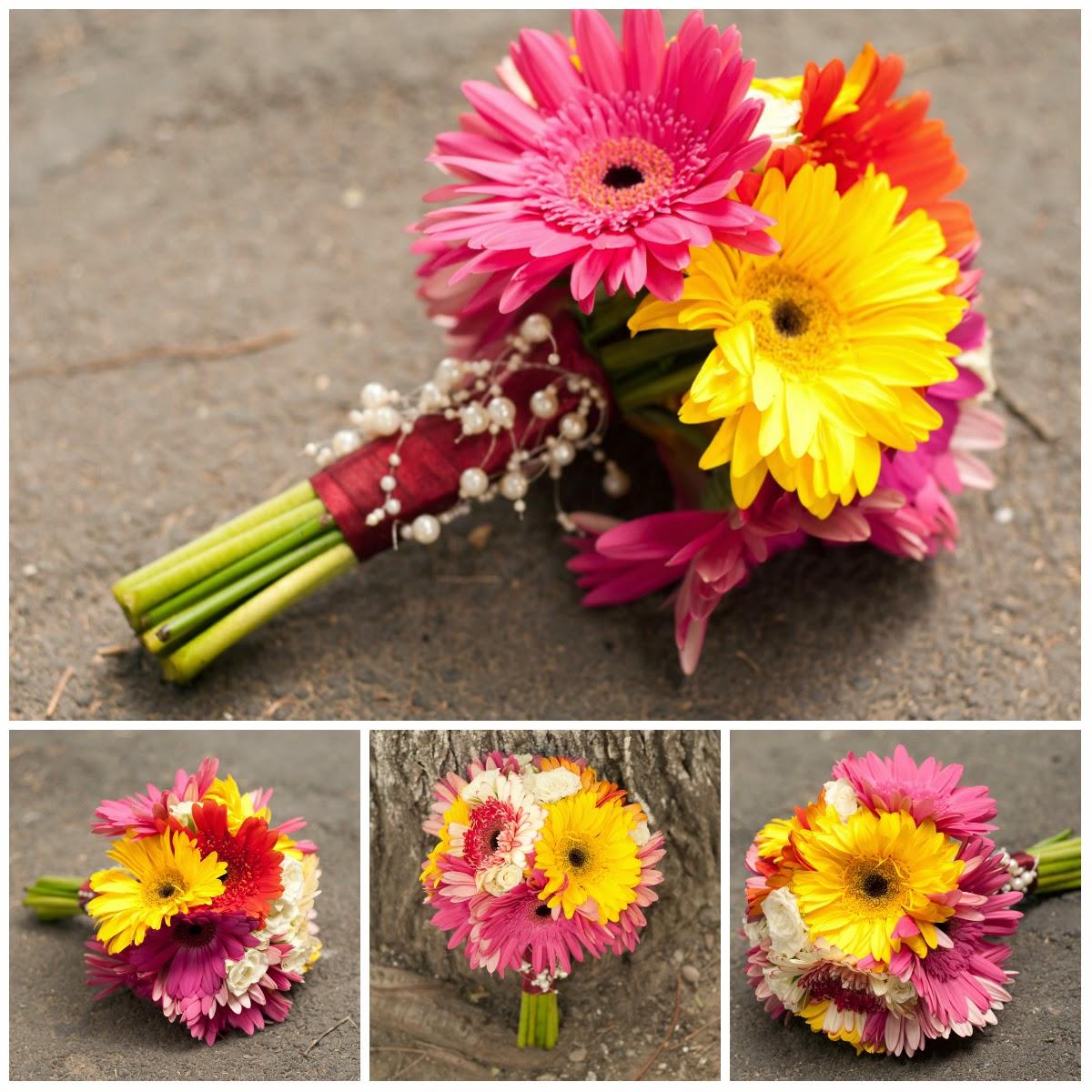 Maya Flowers Buchet Gerbera