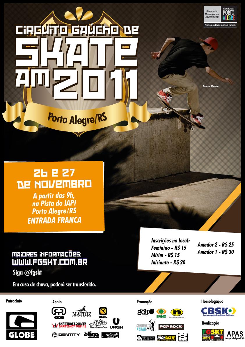 b4cd8720726d2 Finn Read Skate.  O Circuito Gaúcho Amador Street Skate