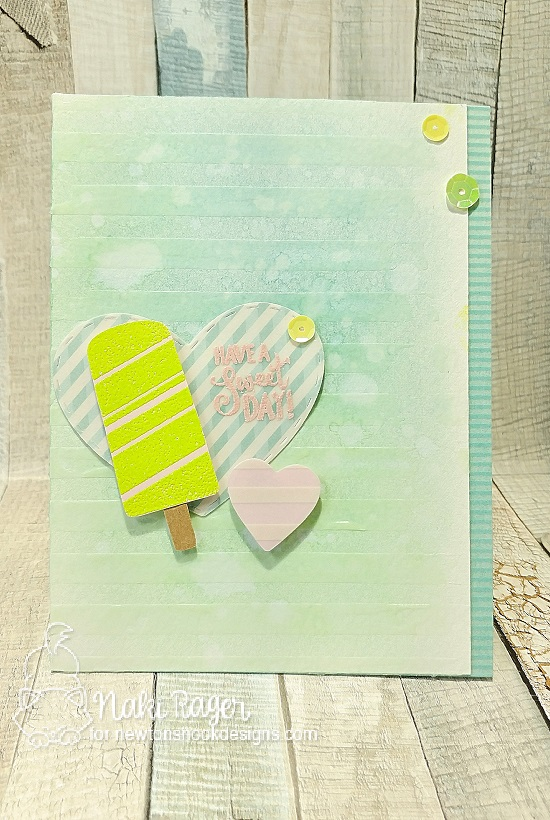 Have a sweet day by Naki featuring Party Pops by Newton's Nook, #newtonsnook