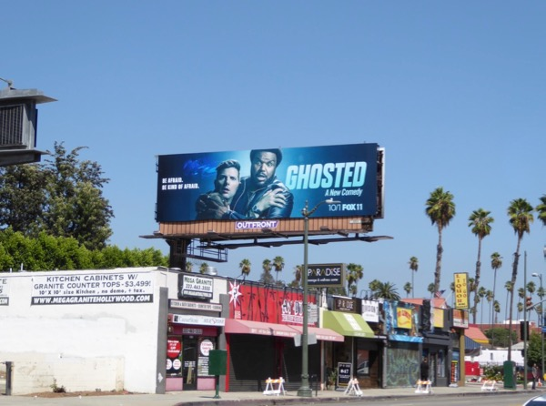 Ghosted TV series billboard