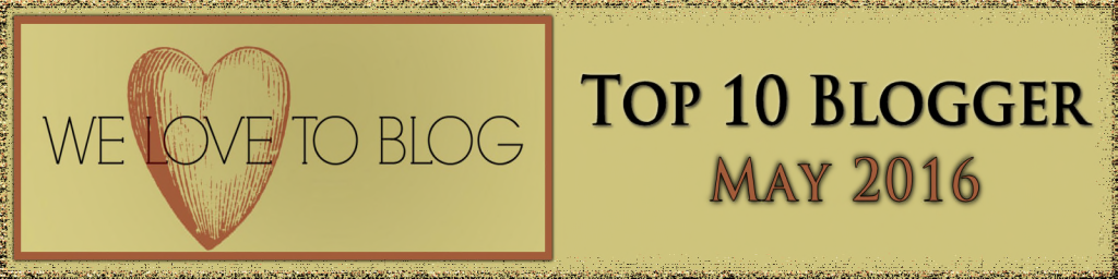 Top Blogger May 2016