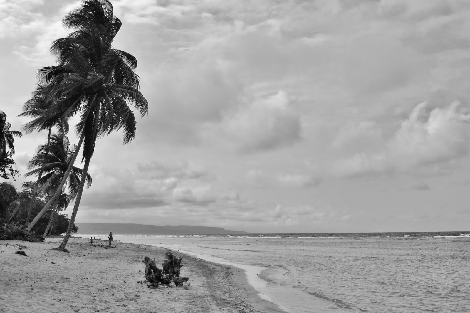 Playa Manglito, próximo à Baracoa, em Cuba.